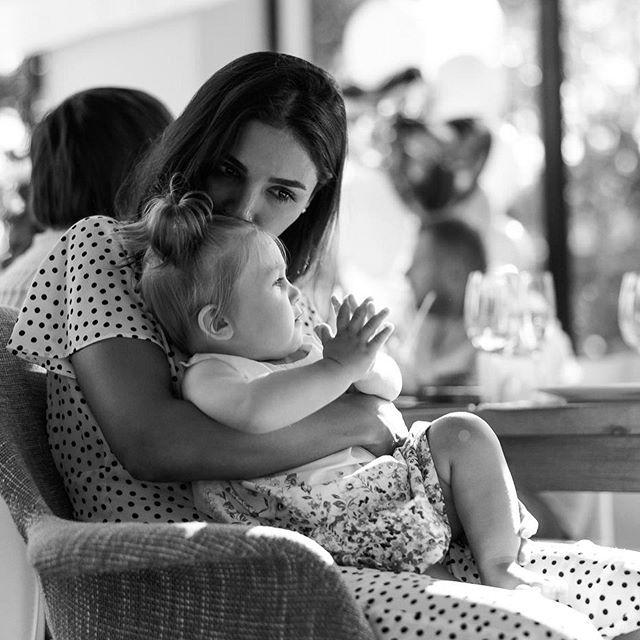 Моя вселенная: Санта Диомопулос тронут подробностями празднования первого дня рождения дочери