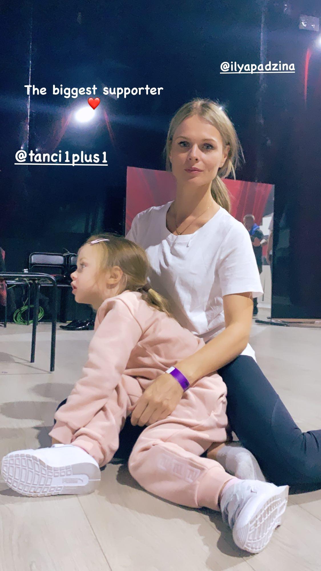 Огромная поддержка: Фреймут очарован редкой фотографией с младшей дочерью на Танцах со звездами 2020