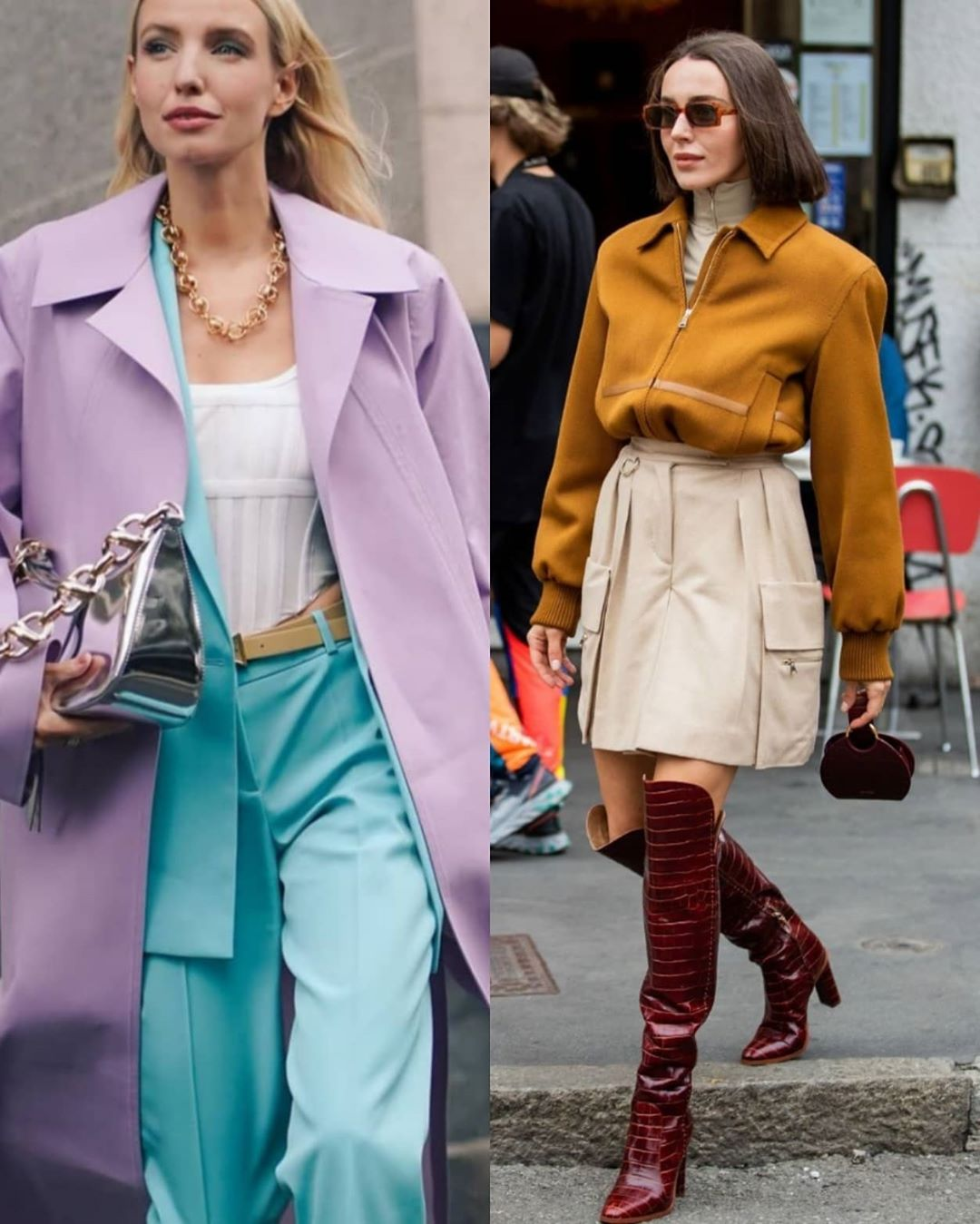 Как составлять многослойные образы осенью: модные примеры от стилиста