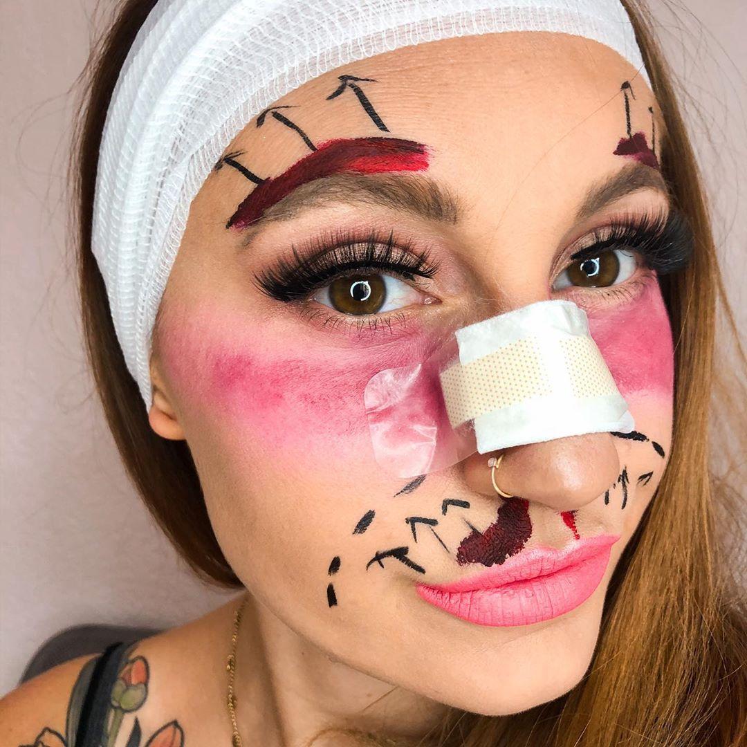 Макияж на Хэллоуин 2020: шикарные и простые варианты праздничного макияжа