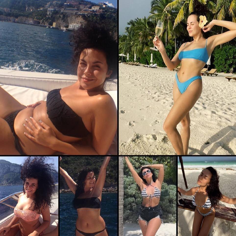 """Настя Каменских показала фото в бикини до и после похудения: """"любите себя"""""""
