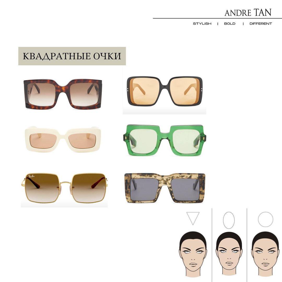 Тренди 2021: Андре Тан розповів, як вибрати модні окуляри