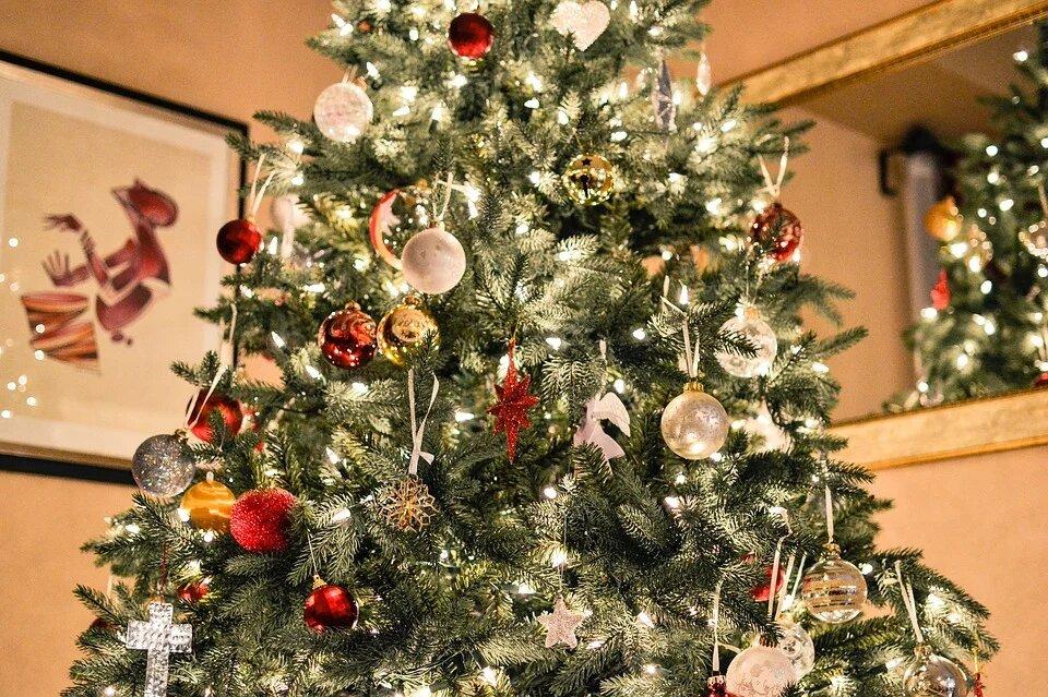 Красный цвет и двойные колокольчики: как украсить елку, чтобы желания сбылись