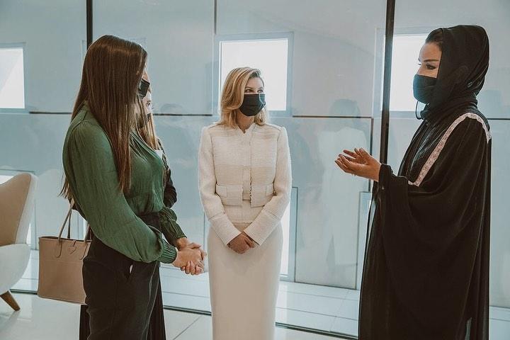 Зеленская в Катаре выделилась изысканным нарядом: новые фото первой леди